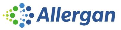 Image of Allergan logo, linking to Allergan website