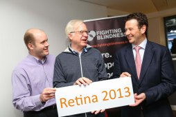 Image of attendees gathered at Retina 2013