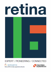 Image of Retina 2016 Conference Brochure